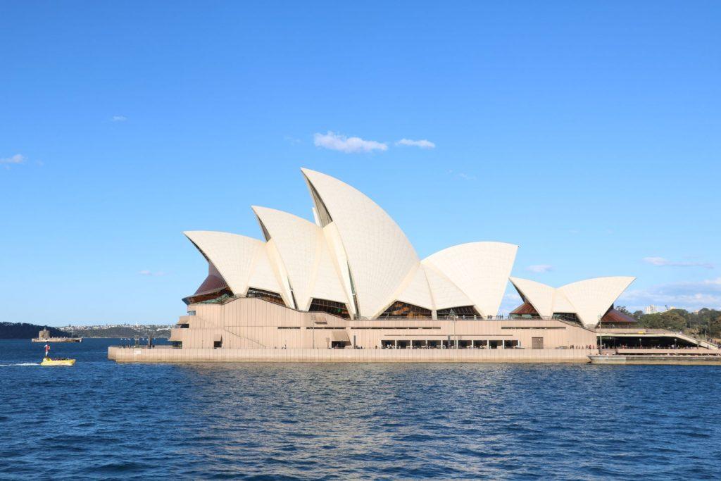 l'opéra de Sydney en Australie