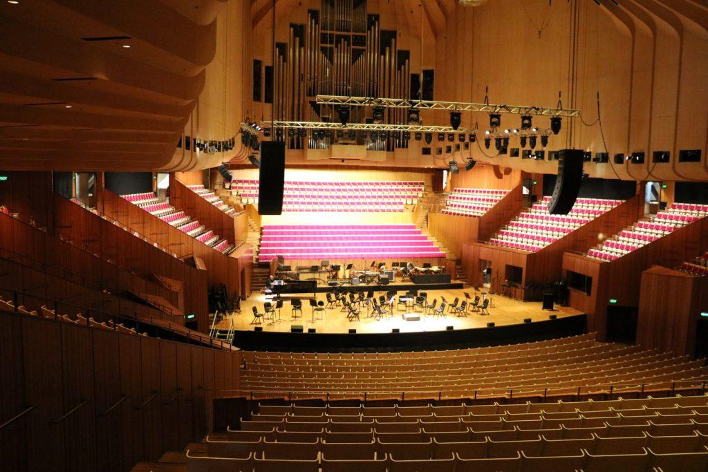 Visite de l'opéra de Sydney en Australie